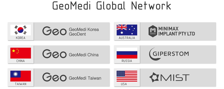 ジオメディ グローバルネットワーク